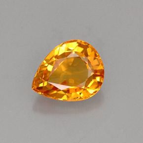 Buy 0.69 ct Golden Orange Sapphire 5.96 mm x 4.8 mm from GemSelect (Product ID: 255740)