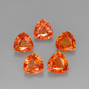 Buy 3.27ct Mandarin Orange Sapphire 4.97mm x 4.90mm from GemSelect (Product ID: 257559)