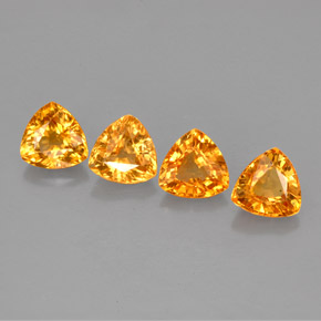 Buy 2.62 ct Golden Orange Sapphire 5.11 mm x 5.1 mm from GemSelect (Product ID: 257580)