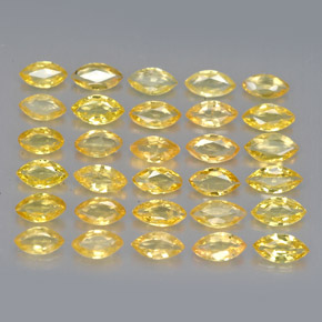 thumb image of 0.1ct Marquise Facet Yellow Golden Sapphire (ID: 263009)