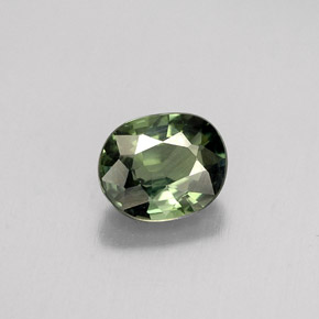 Buy 0.79 ct Green Sapphire 5.80 mm x 4.8 mm from GemSelect (Product ID: 263674)