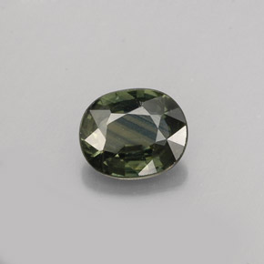 Buy 0.76 ct Blue Green Sapphire 6.06 mm x 5.1 mm from GemSelect (Product ID: 263687)