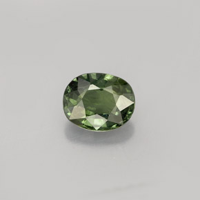 Buy 0.83 ct Green Sapphire 6.15 mm x 5 mm from GemSelect (Product ID: 263702)