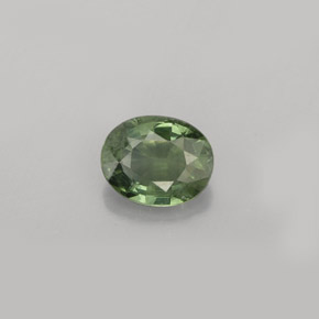 Buy 0.79 ct Green Sapphire 6.19 mm x 5 mm from GemSelect (Product ID: 263707)