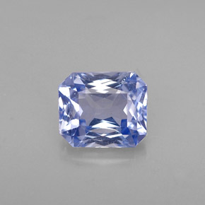 1 1ct Light Blue Sapphire Gem From Tanzania Natural And