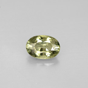 Buy 0.67ct Green Sapphire 6.04mm x 4.19mm from GemSelect (Product ID: 273843)