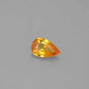 Buy 0.43 ct Yellow Orange Sapphire 6.14 mm x 4 mm from GemSelect (Product ID: 290622)
