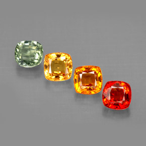 Buy 2.47 ct Multicolor Sapphire 4.48 mm x 4.4 mm from GemSelect (Product ID: 294115)