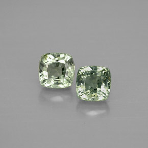 1.07 ct total Natural Green Sapphire