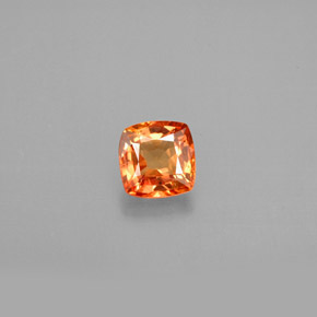 Buy 0.82 ct Orange Sapphire 5.05 mm x 5 mm from GemSelect (Product ID: 301784)