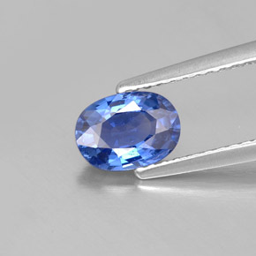 Buy 1.04 ct Blue Sapphire 7.06 mm x 5.1 mm from GemSelect (Product ID: 303620)
