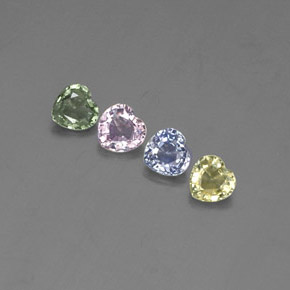 Buy 1.30 ct Multicolor Sapphire 4.15 mm x 4 mm from GemSelect (Product ID: 303675)
