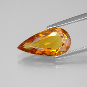 Buy 2.61 ct Yellow Orange Sapphire 13.05 mm x 6.8 mm from GemSelect (Product ID: 305408)