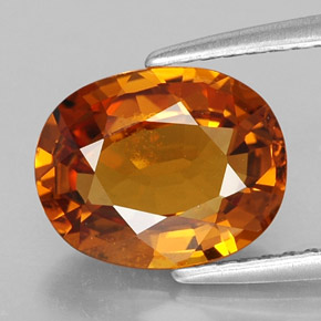 Buy 2.87 ct Yellow Orange Sapphire 9.63 mm x 7.7 mm from GemSelect (Product ID: 307583)