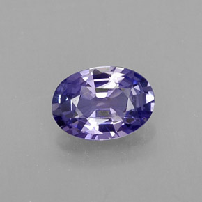 Buy 0.53ct Blue Violet Sapphire 5.91mm x 4.21mm from GemSelect (Product ID: 313516)