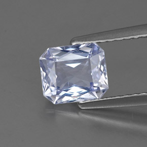 Buy 1.37 ct Light Violet Sapphire 6.74 mm x 5.8 mm from GemSelect (Product ID: 313711)