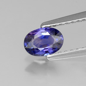 Buy 0.52 ct Blue Violet Sapphire 5.89 mm x 4.2 mm from GemSelect (Product ID: 315561)
