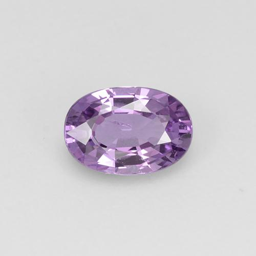 0.58 ct Oval Facet Pinkish Violet Sapphire Gemstone 5.90 mm x 4.1 mm (Product ID: 315759)
