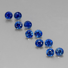 Buy 1.31 ct Deep Blue Sapphire 2.94 mm  from GemSelect (Product ID: 317901)