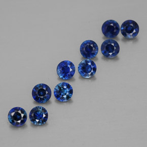 Buy 1.28 ct Deep Blue Sapphire 3.05 mm  from GemSelect (Product ID: 318000)