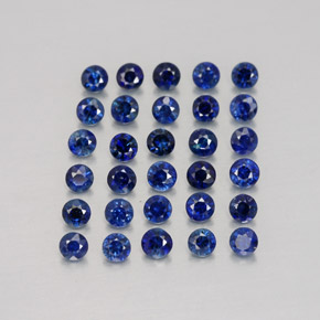 Buy 1.24 ct Deep Blue Sapphire 2.00 mm  from GemSelect (Product ID: 326599)