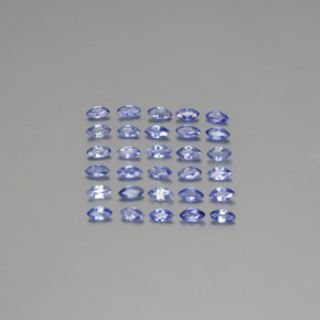 Blue Sapphire Gem - 0.1ct Marquise Facet (ID: 344947)