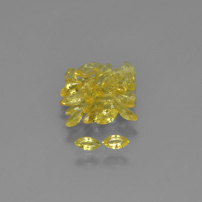 thumb image of 0.1ct Marquise Facet Yellow Golden Sapphire (ID: 345610)