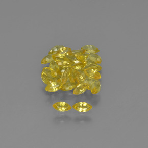 thumb image of 0.1ct Marquise Facet Yellow Golden Sapphire (ID: 345613)