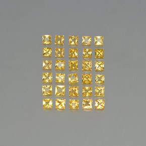 Buy 2.79 ct Yellow Golden Sapphire 2.59 mm x 2.6 mm from GemSelect (Product ID: 347962)