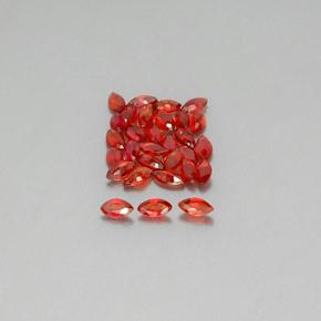 thumb image of 0.1ct Marquise Facet Red Orange Sapphire (ID: 350148)