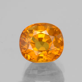 Yellow Golden Sapphire Gem - 3.5ct Oval Facet (ID: 353984)