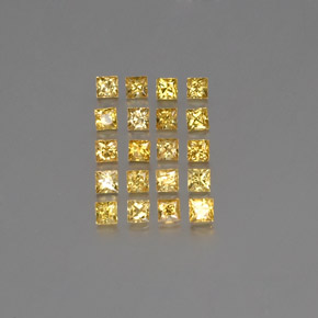 thumb image of 2.5ct Princess-Cut Yellow Golden Sapphire (ID: 354178)