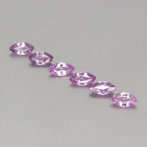 Pinkish Purple Sapphire Gem - 0.3ct Marquise Facet (ID: 358933)