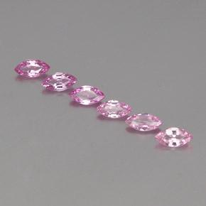 Pink Sapphire Gem - 0.3ct Marquise Facet (ID: 358937)