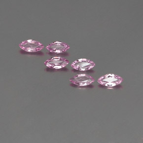Pink Sapphire Gem - 0.3ct Marquise Facet (ID: 359045)