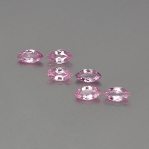 Light Purple-Pink Sapphire Gem - 0.3ct Marquise Facet (ID: 359057)