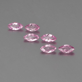 Pink Sapphire Gem - 0.3ct Marquise Facet (ID: 359275)