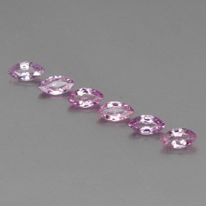 Light Pinkish Violet Purple Sapphire Gem - 0.3ct Marquise Facet (ID: 359516)