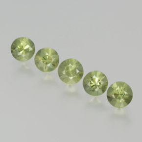 Green Sapphire Gem - 0.3ct Diamond-Cut (ID: 369050)