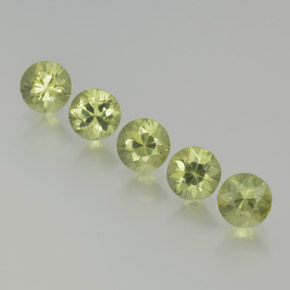 Green Sapphire Gem - 0.4ct Diamond-Cut (ID: 369051)