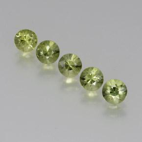 Green Sapphire Gem - 0.4ct Diamond-Cut (ID: 371314)