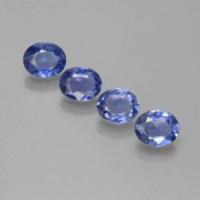 Blue Sapphire Gem - 0.4ct Oval Facet (ID: 373901)