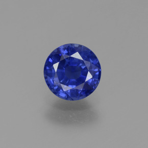 Buy 0.75 ct Blue Sapphire 5.33 mm  from GemSelect (Product ID: 374646)