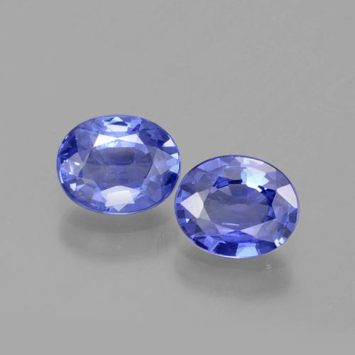 Blue Sapphire Gem - 0.7ct Oval Facet (ID: 395974)
