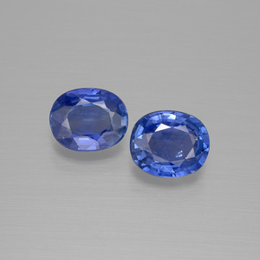 Blue Sapphire Gem - 0.7ct Oval Facet (ID: 396622)