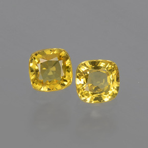 thumb image of 0.9ct Cushion-Cut Yellow Golden Sapphire (ID: 406881)