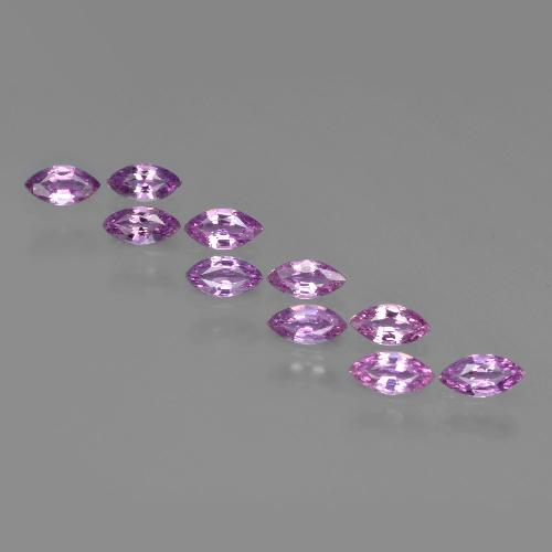 Medium Purple Sapphire Gem - 0.2ct Marquise Facet (ID: 410497)