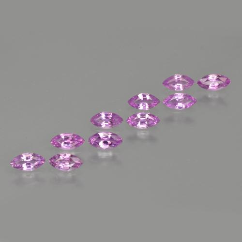 Pink Sapphire Gem - 0.2ct Marquise Facet (ID: 410521)