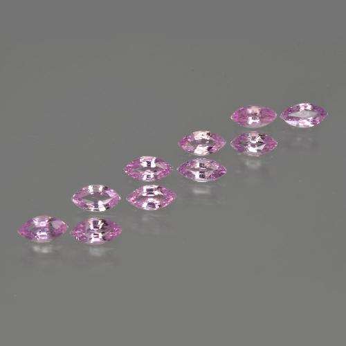 Light Pink Sapphire Gem - 0.2ct Marquise Facet (ID: 410526)