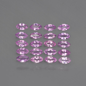 thumb image of 0.1ct Marquise Facet Purple Pink Sapphire (ID: 410621)